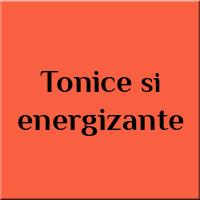 Tonice si energizante